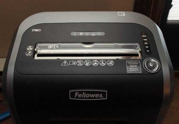 Fellowes Shredder 2 (1 of 1)