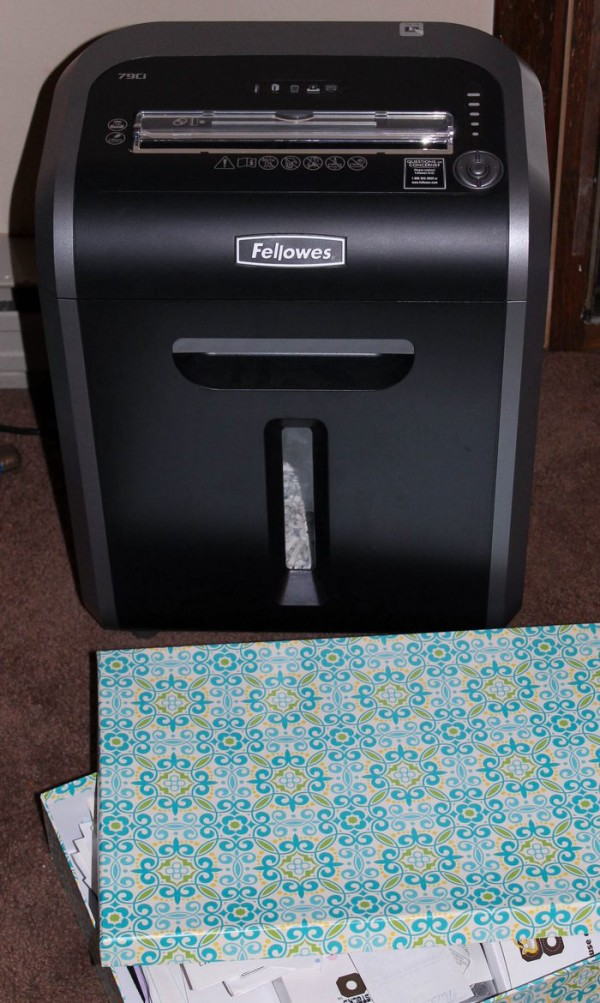 Fellowes Shredder 3 (1 of 1)