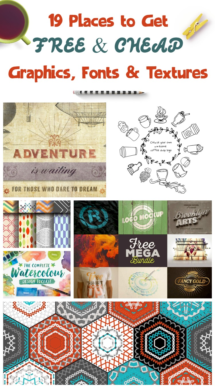 19 Awesome Free Graphics Resources You'll Thank Me For Later!