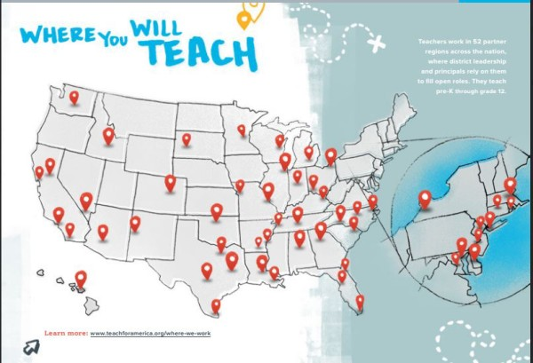 Teach For America Locations