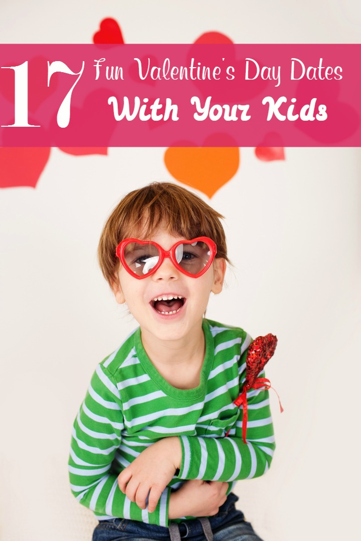 At a loss for Valentine's Day ideas for the kids? How about skipping the romantic night out with your significant other and going on a Valentine's Day date with your kids instead?
