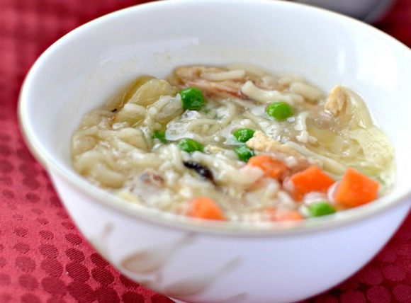 Chicken Noodle Soup Recipe: Great home remedy for a cough