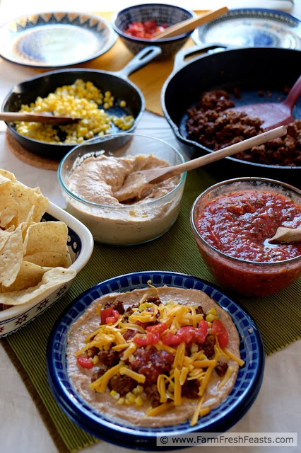 make your own taco bar overview