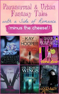 In honor of the upcoming holiday of all things love, I'm sharing a few of my favorite paranormal romances that aren't totally cheesy. These books capture your attention with great characters, amazing stories and a nice side of love that doesn't overpower the rest.