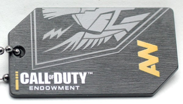 Call of Duty Endowment Limited Edition Dog Tags