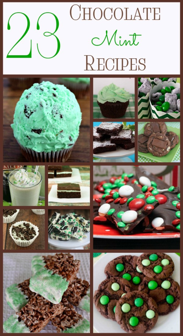 Get your minty chocolate fix for St. Patrick's Day and beyond with these 23 absolutely amazing chocolate mint recipes! From brownies to cookies to no bake treats and more, you'll find something you love (as long as you love chocolate mint, of course).