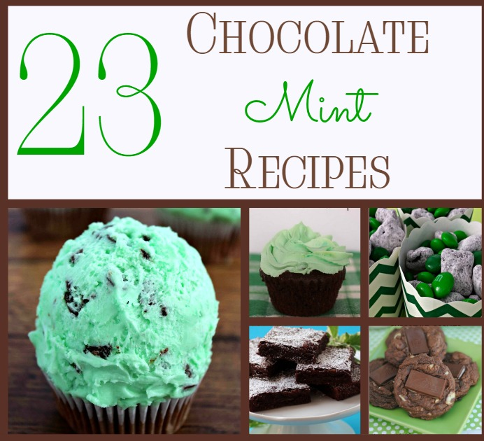 23 Enchanting Mint Chocolate Recipes for St. Patrick's Day & Beyond!