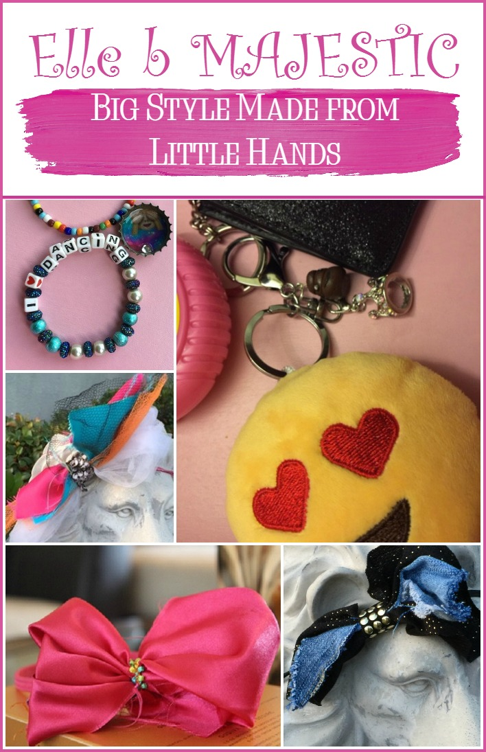 Elle b MAJESTIC creations, made by a 9-year-old entrepreneur with big dreams, show that big style can come from little hands. Her unique accessories brand makes great gift ideas for stylish girls of all ages. Check them out!