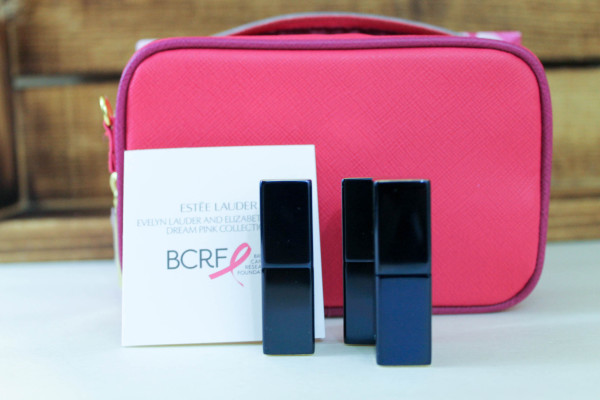 This Valentine's Day (and beyond), get glamorous while giving back and supporting breast cancer research with two fabulous beauty products from Estée Lauder!