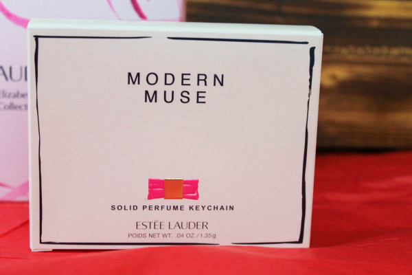 Estée Lauder Modern Muse Solid Perfume Keychain supports BCA