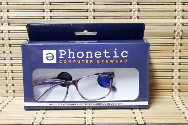 Ditch digital eye strain without ditching your style, thanks to Phonetic Eyewear computer glasses! Look good while protecting your eyes. Check them out!
