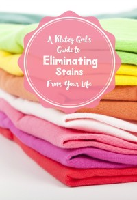 As a klutzy person, I'm prone to making some of the craziest messes! Learn from my mistakes and check out my tips on eliminating stains from your life once and for all!