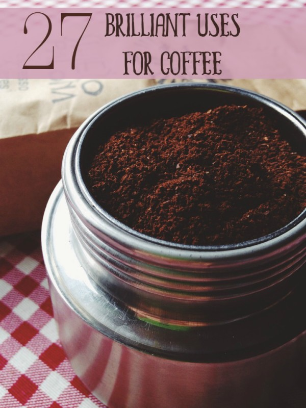 Coffee is delicious and brilliant for drinking, sure, but did you know that you can use those used and unused grounds for loads of other things? Even that brewed coffee has more uses than caffeinating your tired self! Check out 27 brilliant uses for coffee, aside from the obvious!
