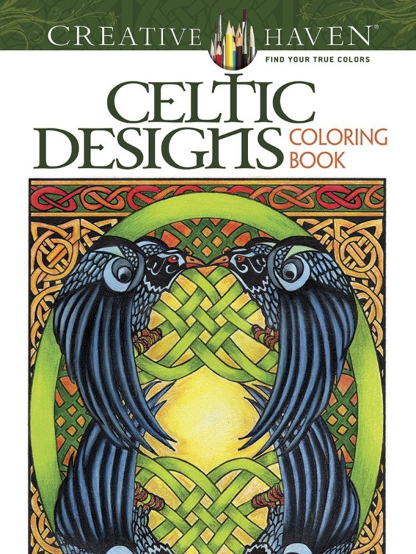 5 Beautiful Celtic Adult Coloring Books