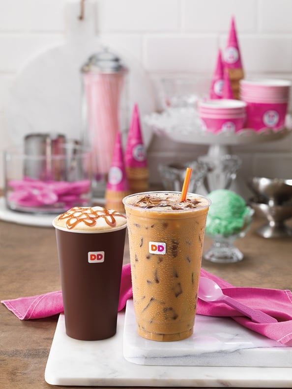 It's ice-cream season at Dunkin' Donuts! Those delicious Baskin-Robbins inspired flavors are back and they brought a new friend, Pistachio. I love trying new flavors of coffee at Dunkin' Donuts, and I have to say, Pistachio is quite a surprise!