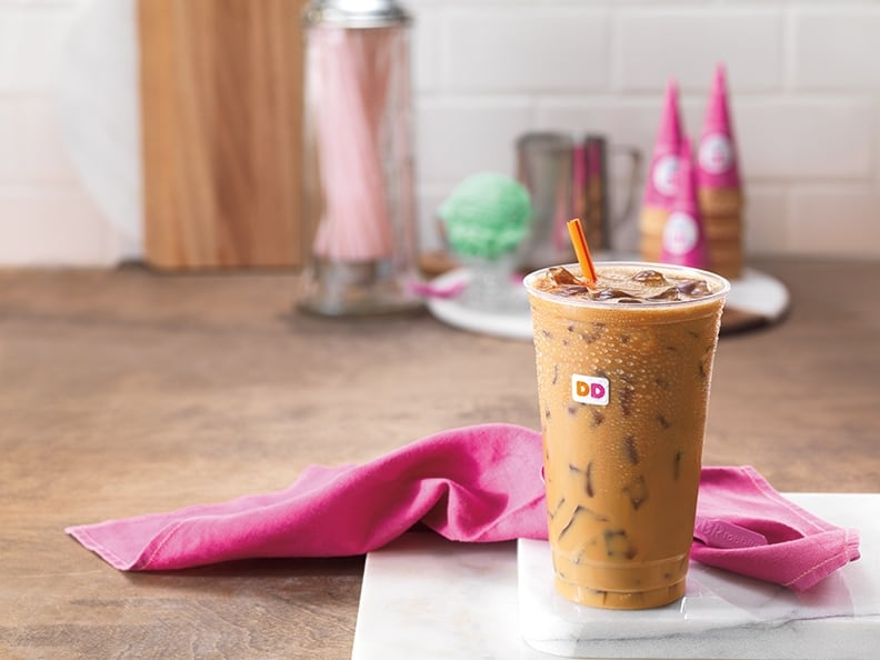 Baskin Robbins Flavored Pistachio Iced Coffee horizontal (1)
