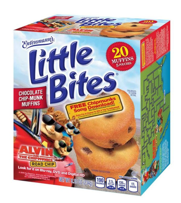 Hit the Road with the Chipmunks & Entenmann's Little Bites! + Giveaway