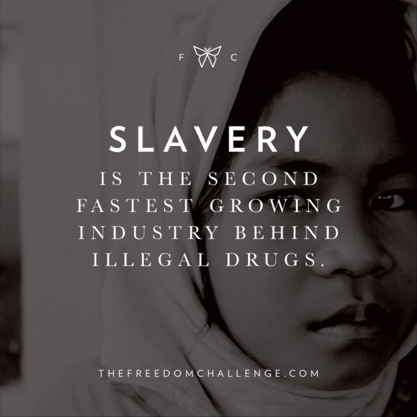 Modern day slavery is a global problem, and it will continue to be a problem as long as the enforcement of human trafficking laws is weak.