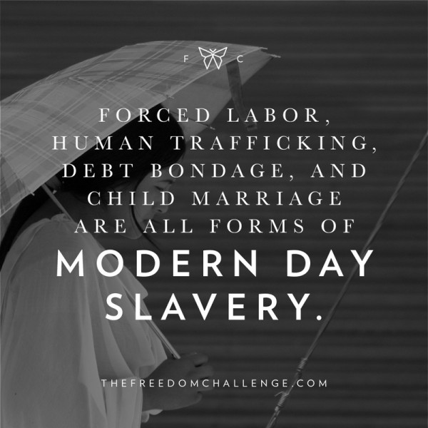 80 percent of the slaves worldwide are women and children.