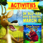 Fun with Elliot & Boog! Open Season: Scared Silly Games & Printables! #OpenSeason4