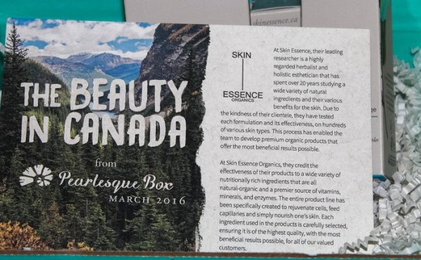 Discover natural beauty from around the world without leaving home thanks to Pearlesque Box!