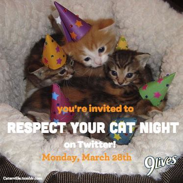 Respect Your Cat Party