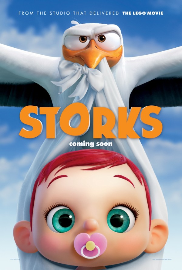 The Storks are back in the business of delivering babies, at least until they can find a home for one unauthorized little girl! Check out the trailer for the upcoming Warner Bros. Movie, STORKS!