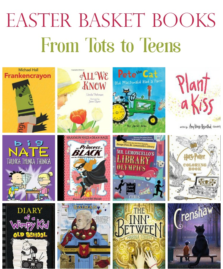 21 Books That Belong In Every Child's Easter Basket (from Tots to Teens)
