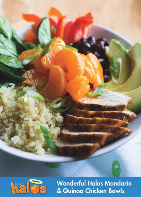 Wonderful Halos Mandarin & Quinoa Chicken Bowls