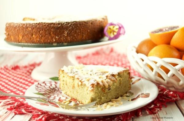Orange Almond Gluten-Free Cake Mother's Day Brunch Recipe
