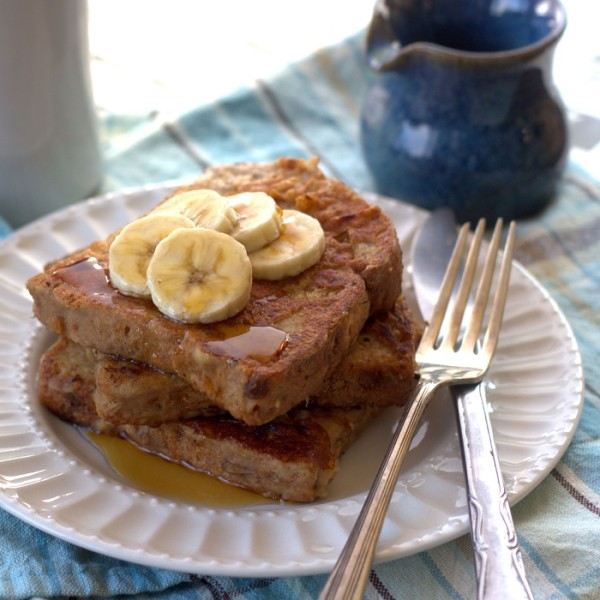 Vegan Peanut Butter French Toast Mother's Day Brunch Recipes