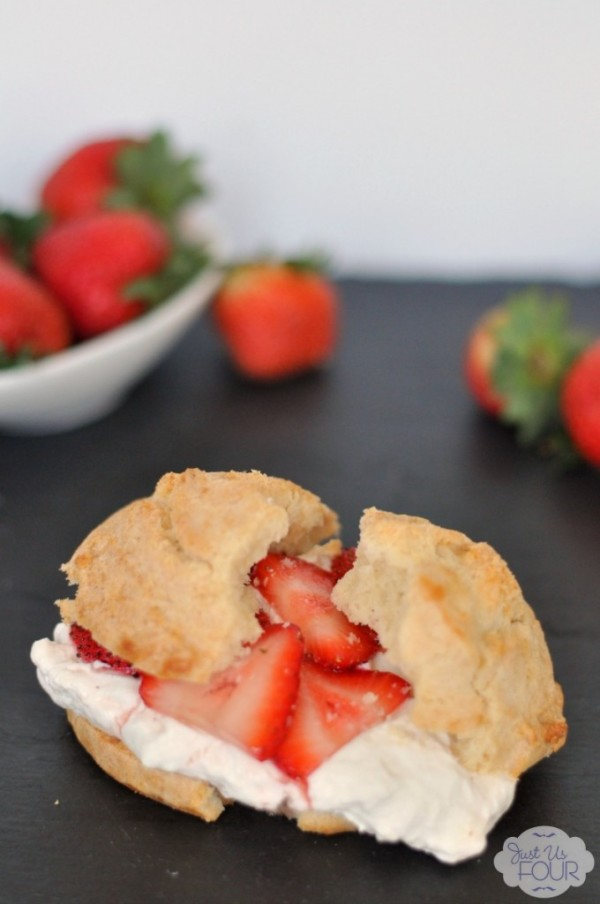 Strawberry Shortcake Mother's Day Brunch Recipe
