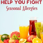 Fight back against the seasonal sneezing, itchy eyes and runny nose with these 25 foods that help fight allergies!