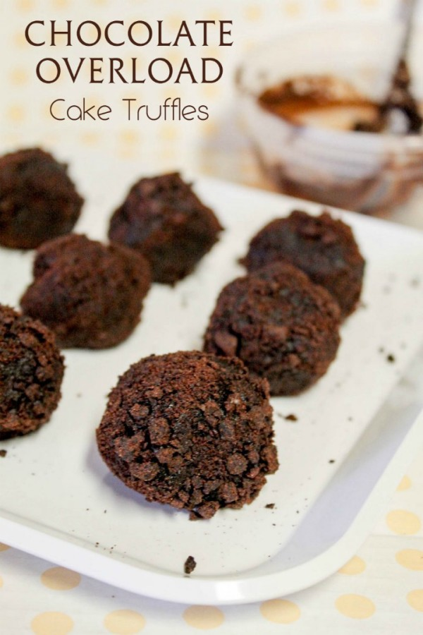 Whip up rich delicious chocolate overload cake truffles in just a few minutes with Doorstep Desserts!