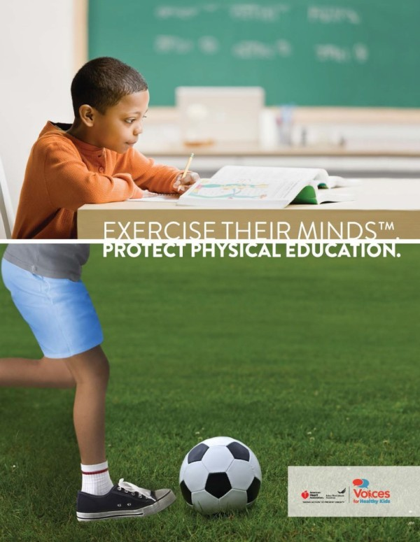 Let's Help the American Heart Association Make PE in Schools a Bigger Priority! Learn how!