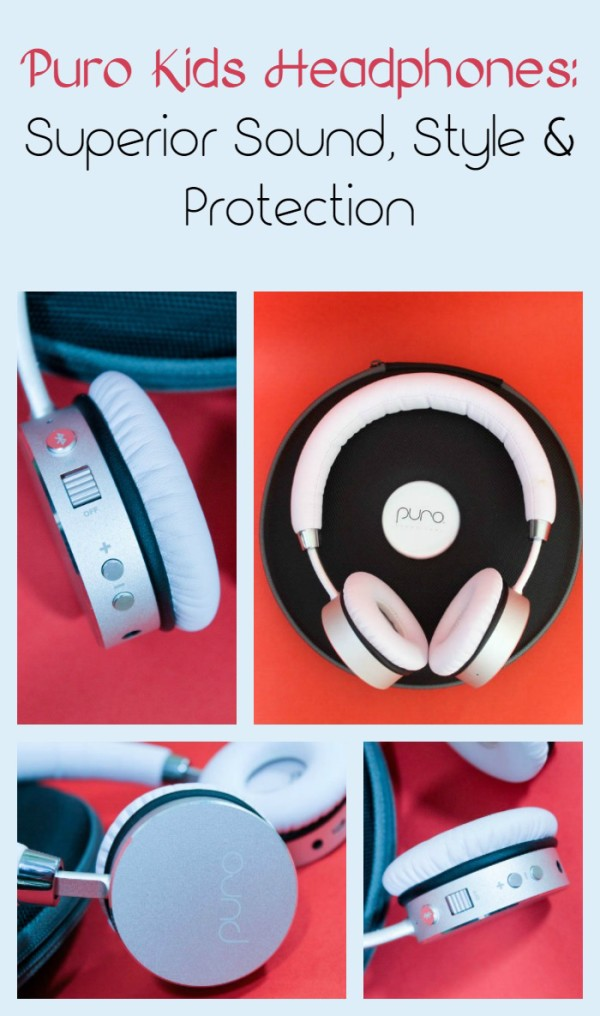 Puro Sound's bluetooth headphones for kids help protect your child from noise-induced hearing loss without sacrificing style or sound. Check them out!