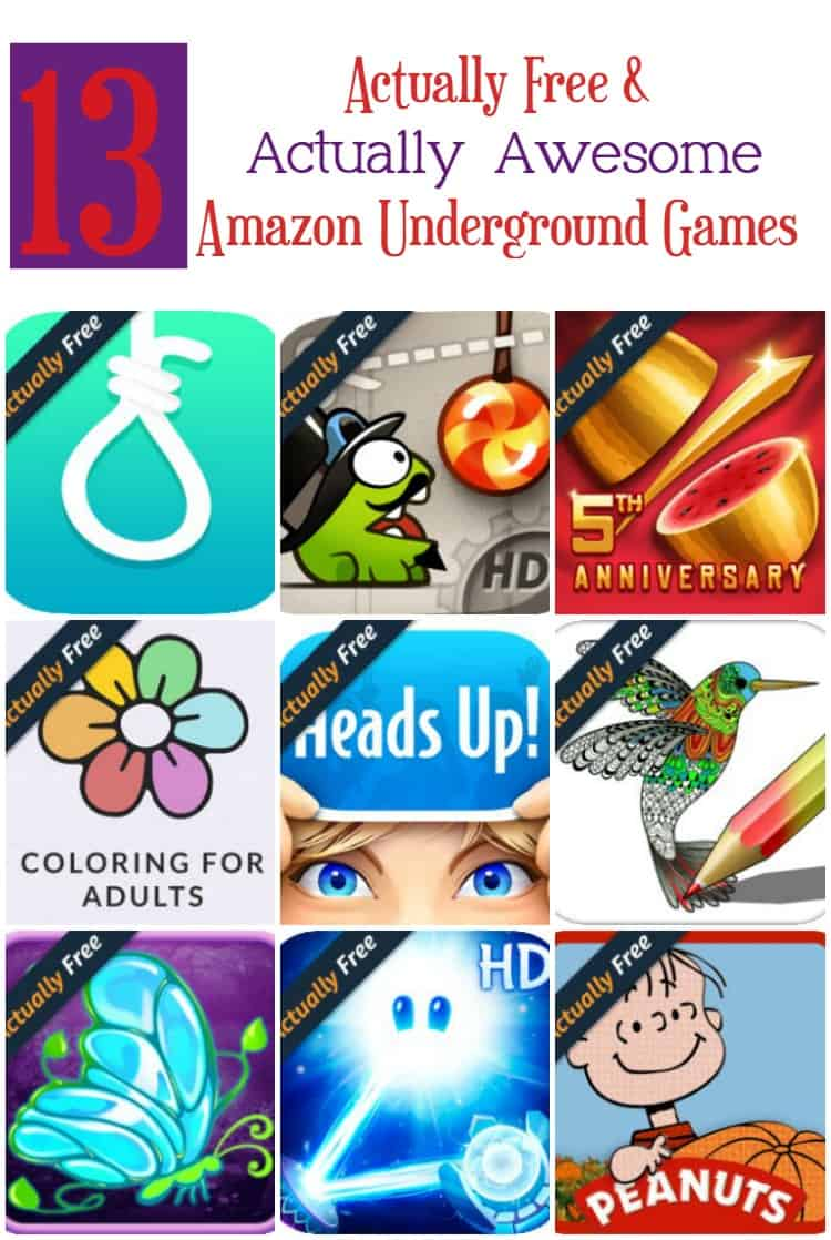 "13 Amazon Underground ""Actually Free"" Games That Are Actually Awesome"