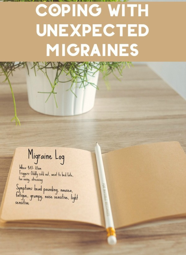 If there's anything worse than a migraine, it's one that comes with no warning! Check out how to cope with unexpected migraines.