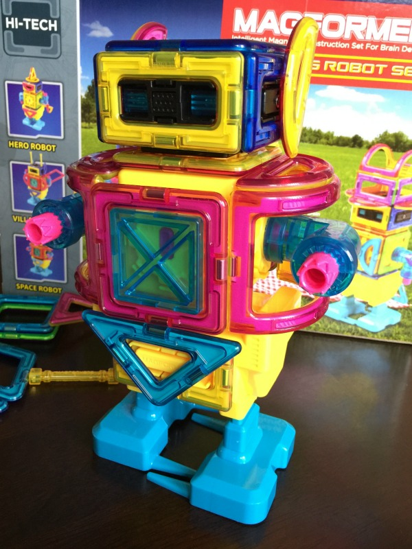 Engage Your Young Engineer's Mind with Magformers Walking Robot Set
