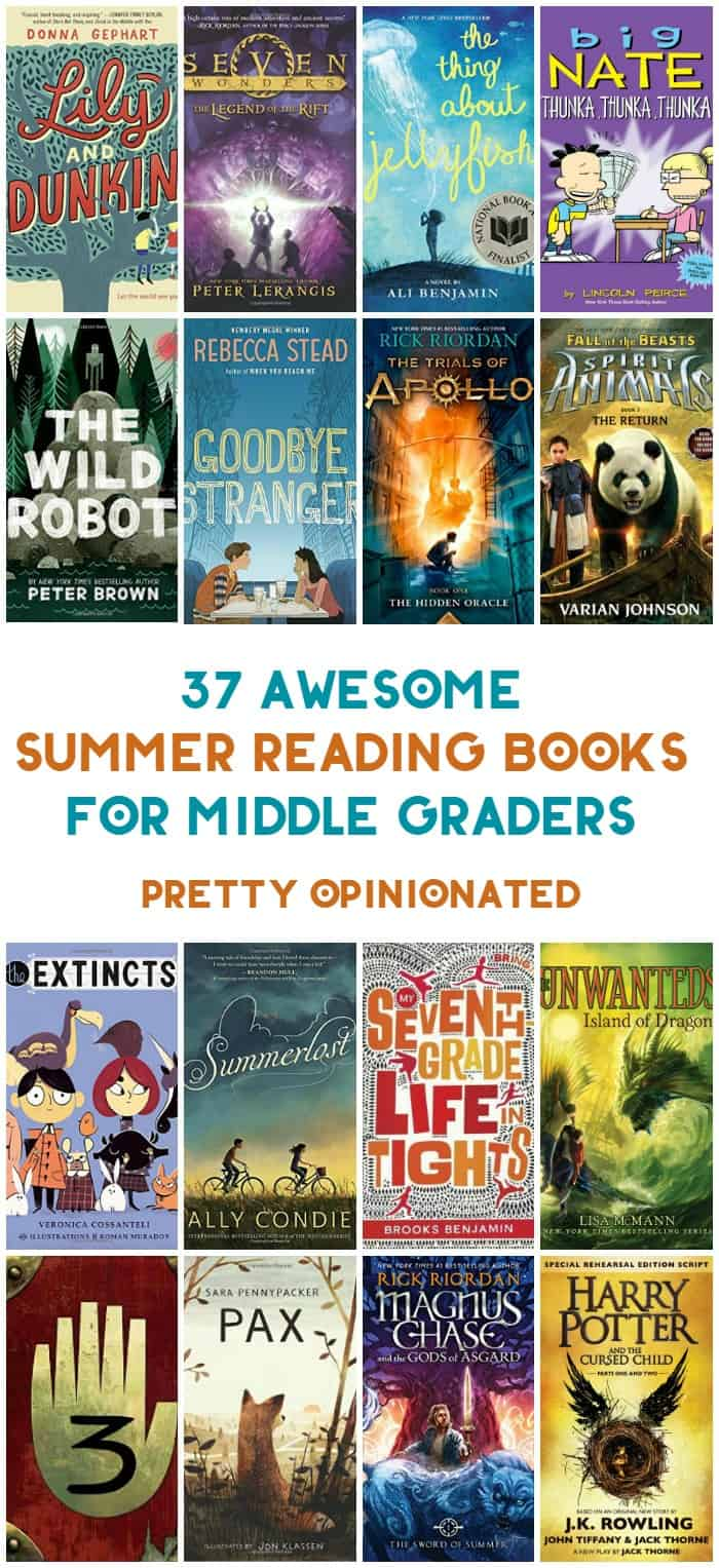 Summer reading is all about letting kids choose their own literary adventures after a year of having everything chosen for them. My 2016 summer reading list for middle-grade kids is filled with 37 books that your middle graders will actually WANT to read. I know, because I vetted them with an actual middle-grader!