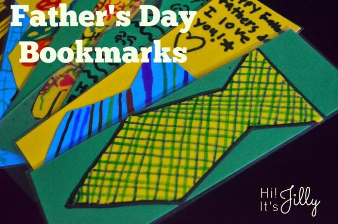 Fathers Day Bookmarks Hi its Jilly