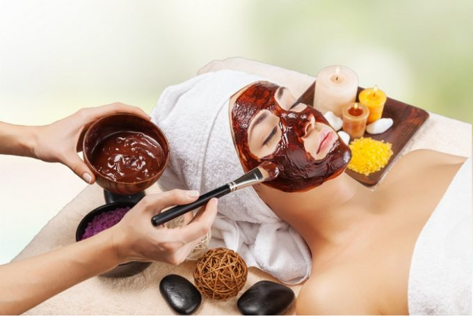 Chocolate skin care