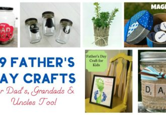 fathers day crafts featured