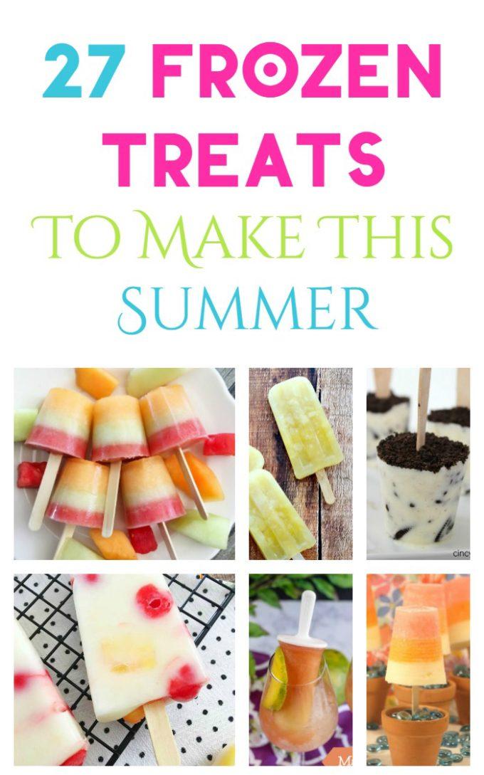 frozen treats ice pops