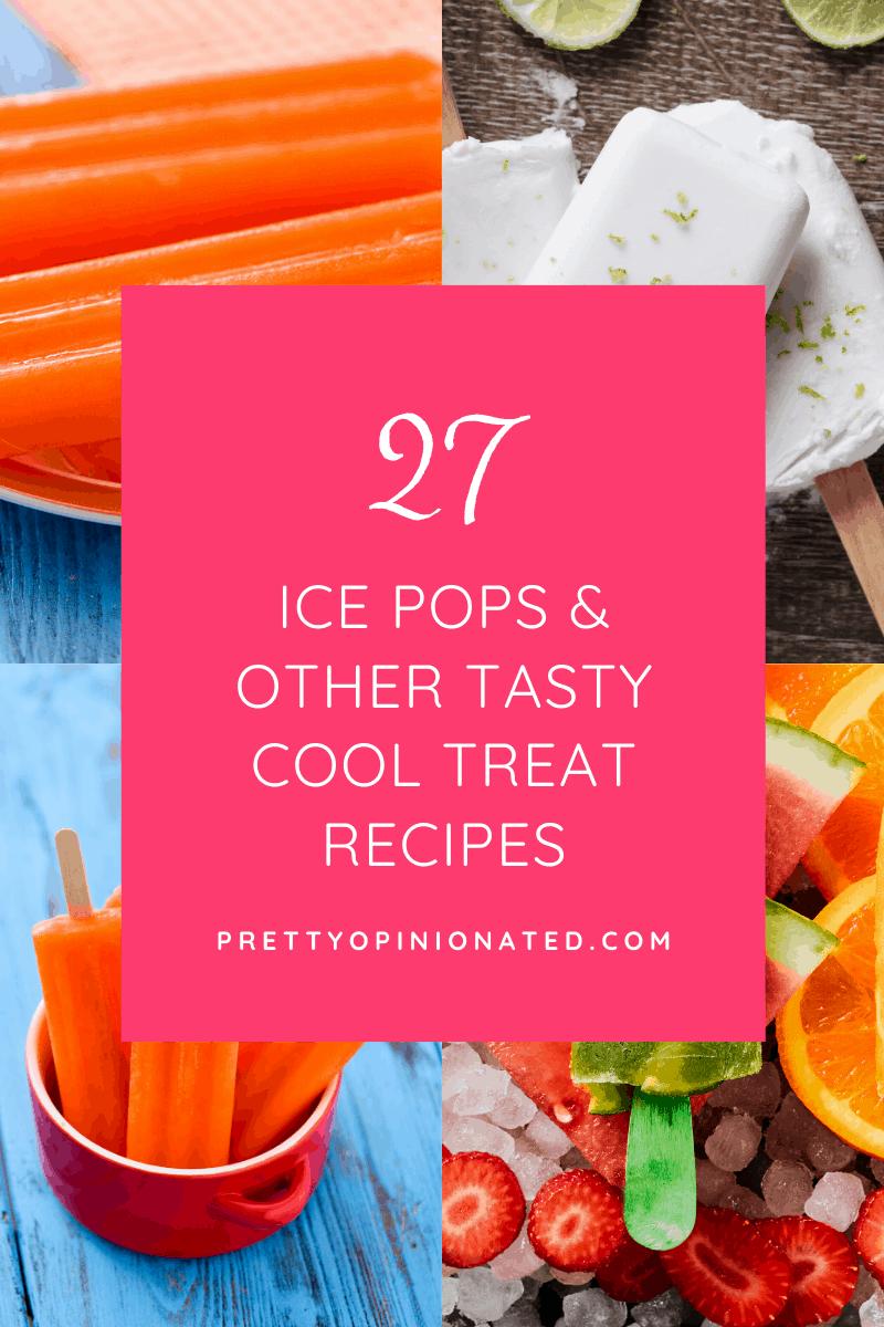 ice pop recipes 04 27 Homemade Frozen Pops & Tasty Cool Treats