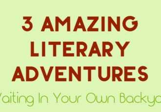 literary adventures backyard
