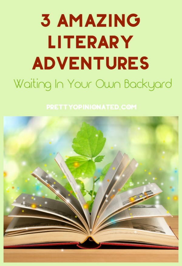 Want to get your kids really excited about summer reading and keep them active all season long? Take their favorite book and turn it into a literary adventure! It's not as hard as it sounds, I promise. In fact, these ideas can all be done in your own backyard (or nearby park, if you're a city dweller) without many supplies. All you really need is a little time, a great imagination and a story to spark the activity.