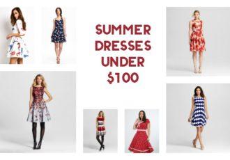 summer dresses under 100 f