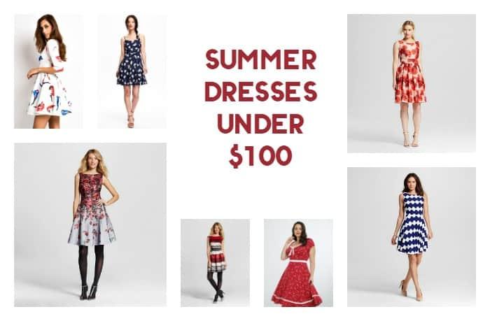 15 Fabulous Summer Dresses Under $100 (including 5 under $40!)