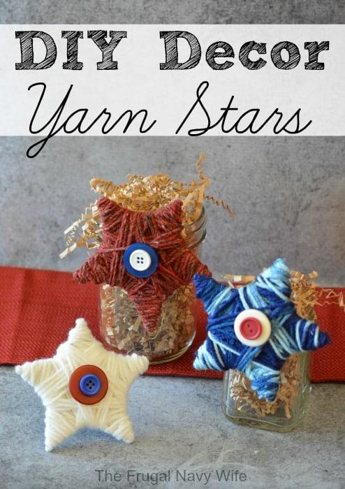 DIY-Decor-Yarn-Stars